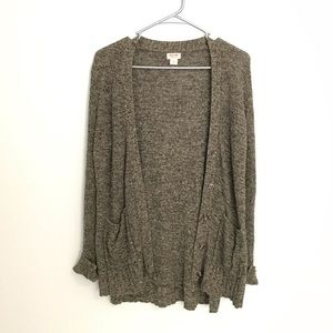 Army Green Cardigan